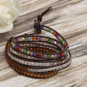 Jewelry - Rainbow Desert Wrap Bracelet